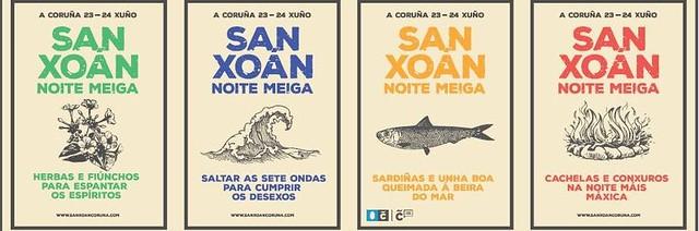 A Coruña 2016 - Festas de San Xoán - cartel