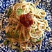 noodle salad tossed in peanut sauce by viajvia