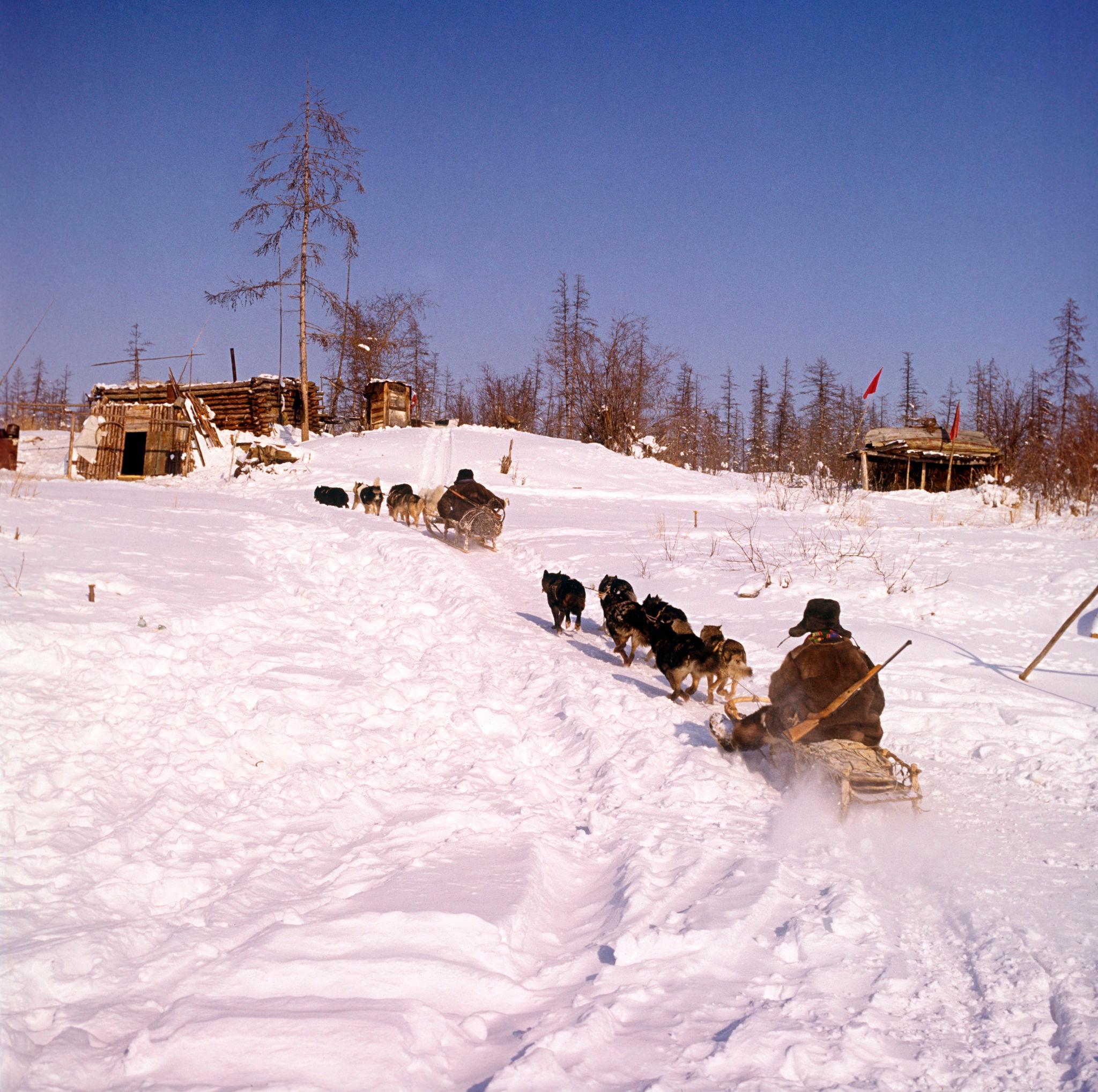 1970-е. Лена, Таежная метеостанция Китулья