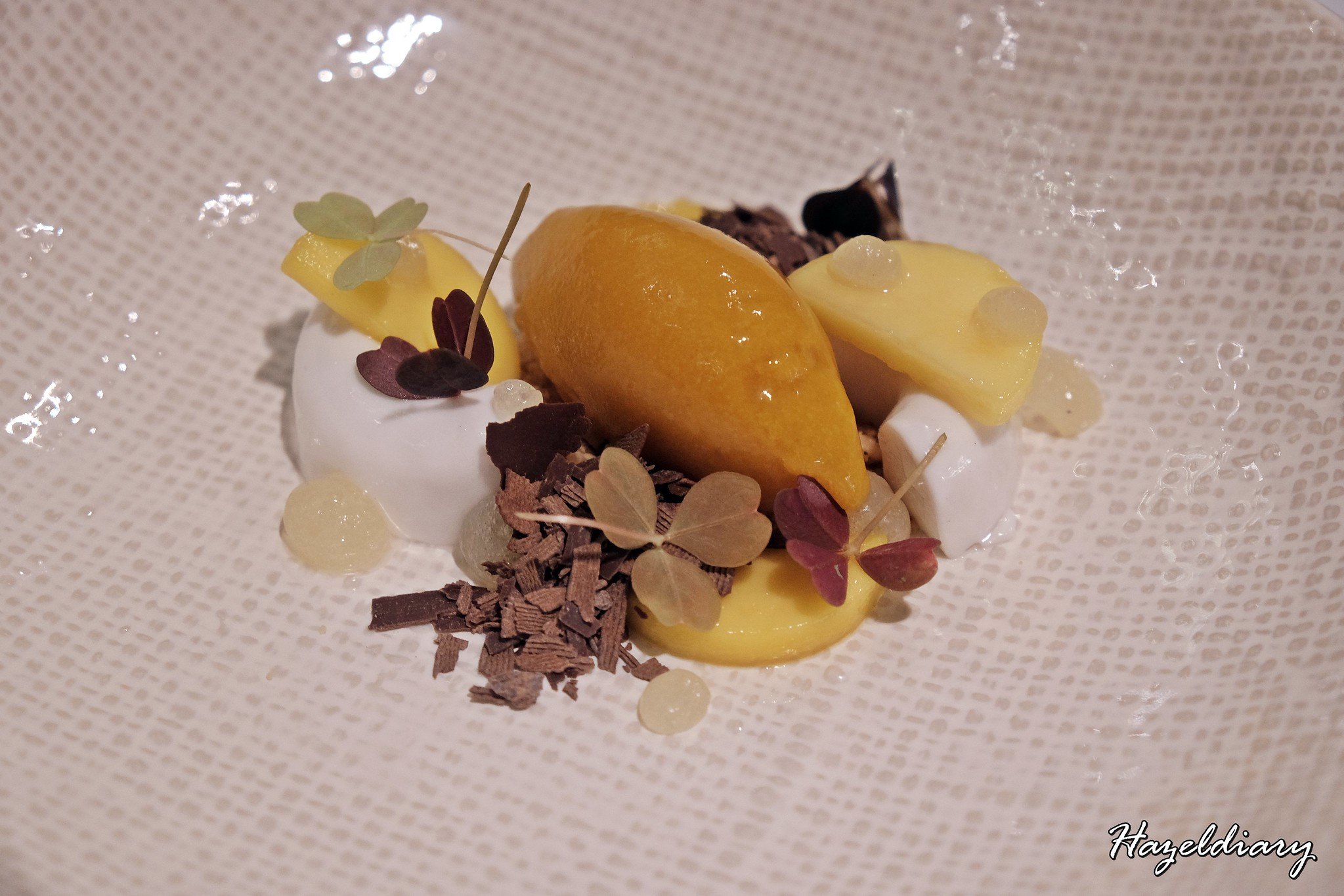 Subrosa Private Dining-Tropical passion dessert