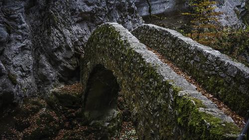 Saut du Briot en Suisse Gorges de l'Areuse