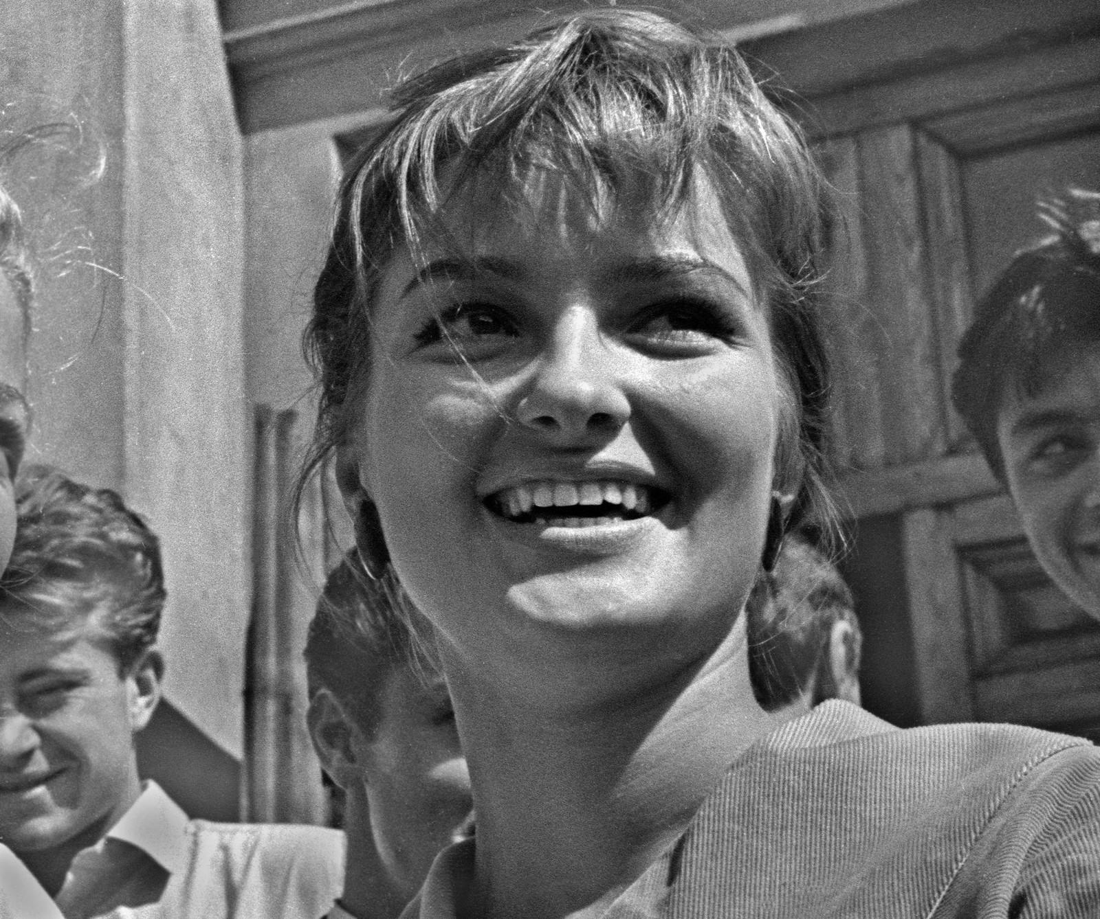 1963. Режиссер Лариса Ефимовна Шепитько, Москва
