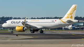 Airbus A320 Neo Gulf Air A9C-TB