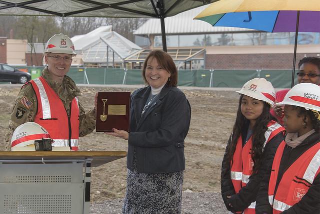 Patch Elementary School groundbreaking ceremony