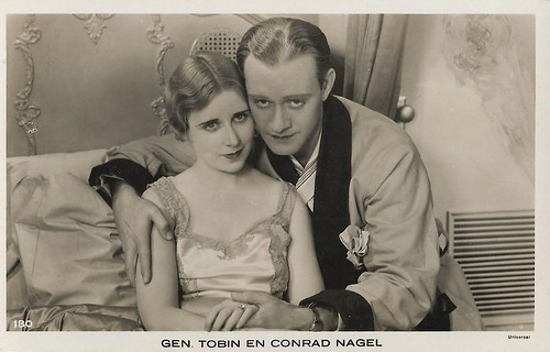 Conrad Nagel and Genevieve Tobin