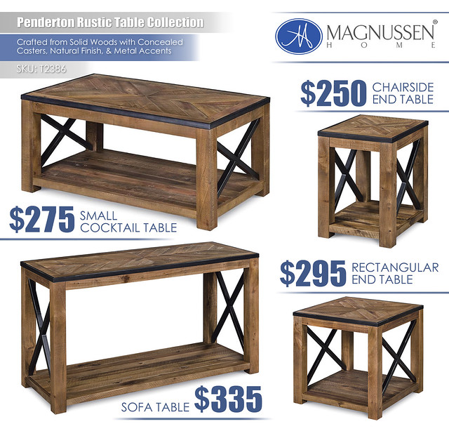 Penderton Table Collection_T2386
