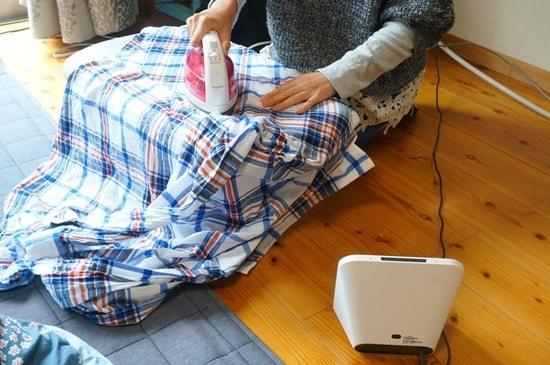 Clova Deskで音楽をかけながらアイロンをかける方法