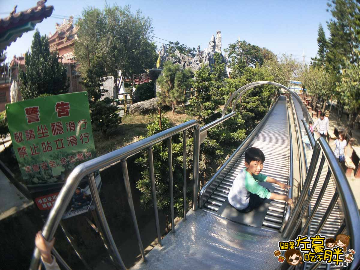 台南佳福寺溜滑梯(台南親子旅遊)-31