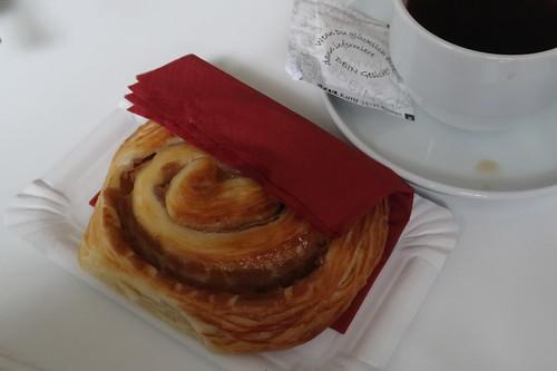 Zimtschnecke (in einer Kaffeepause der Tagung in Passau)