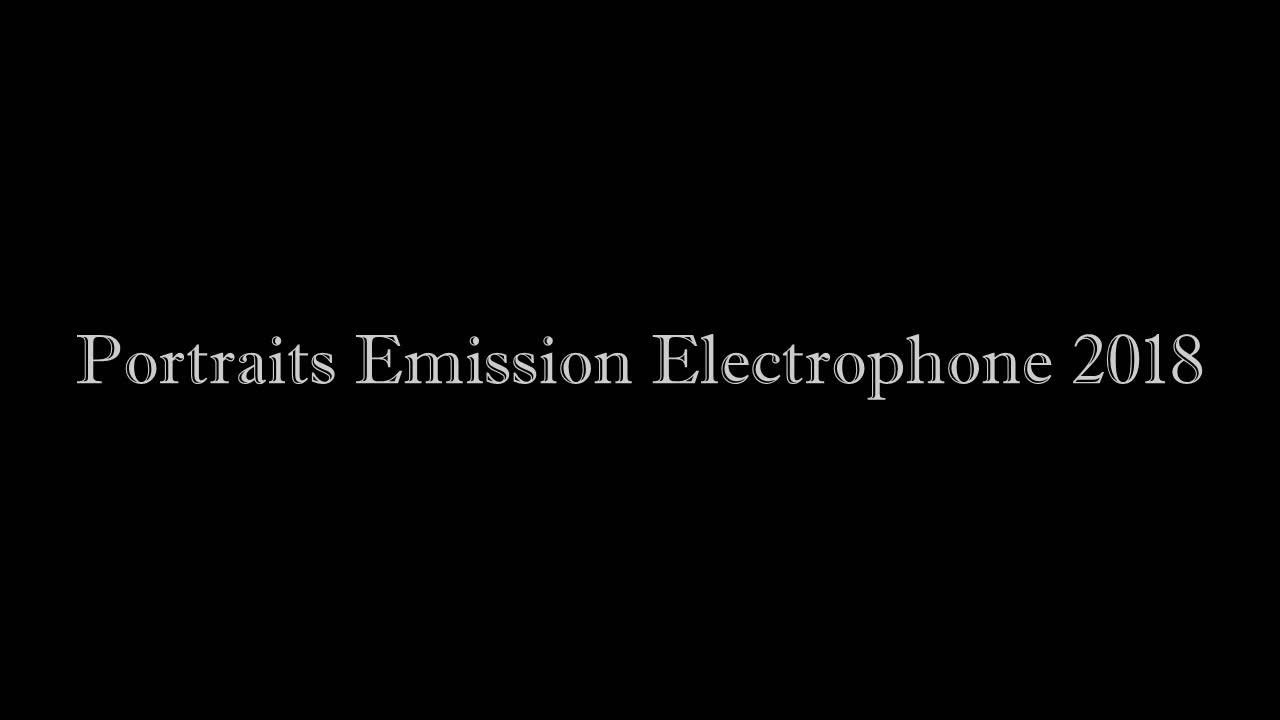 Diaporama PORTRAITS Electrophone 2018 720p