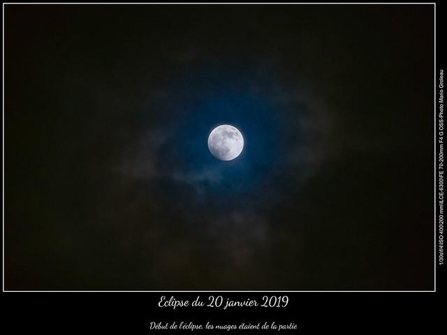 Eclipse du 20 janvier 2019