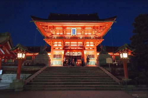 Fushimi Inari Jinja Romon no Kitsune - Kyoto (Japan)