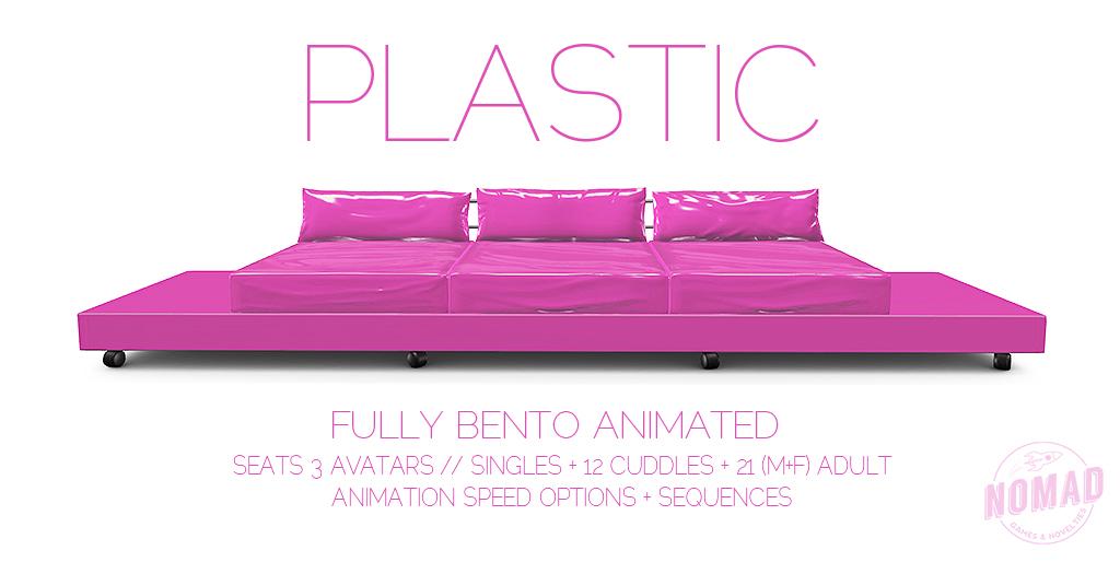 NOMAD // PLASTIC Bento Couch