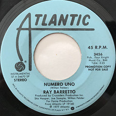 RAY BARRETTO:NUMERO UNO(LABEL SIDE-B)