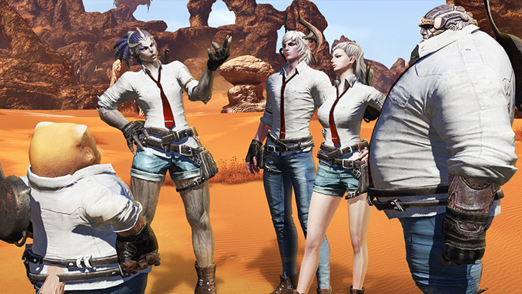 Get your first look at MMO Tera's PUBG-themed event ahead of