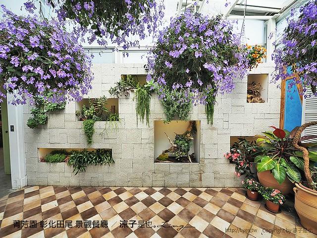 菁芳園 彰化田尾 景觀餐廳 43