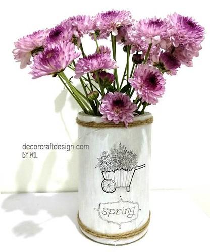 spring rustic vase