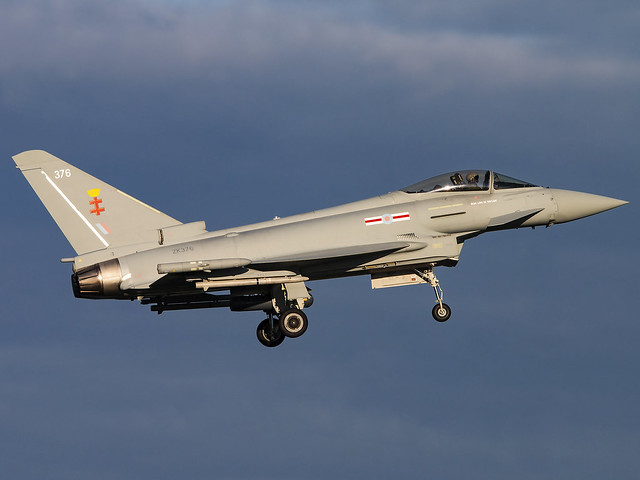 Royal Air Force | Eurofighter EF-2000 Typhoon FGR.4 | ZK376