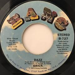 BRICK:DAZZ(LABEL SIDE-A)