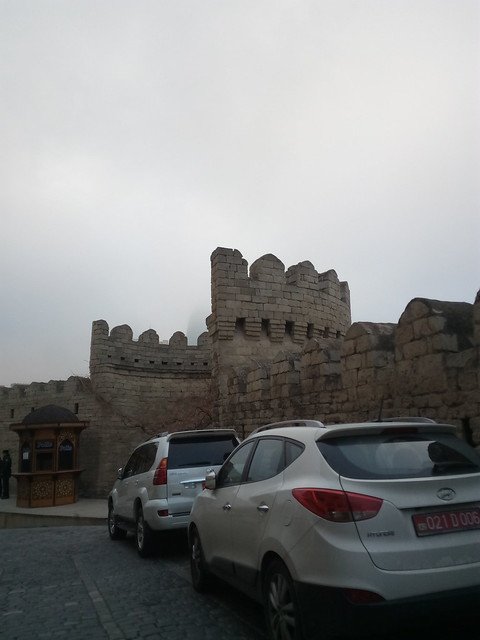 Baku, Old city and Flame Towers