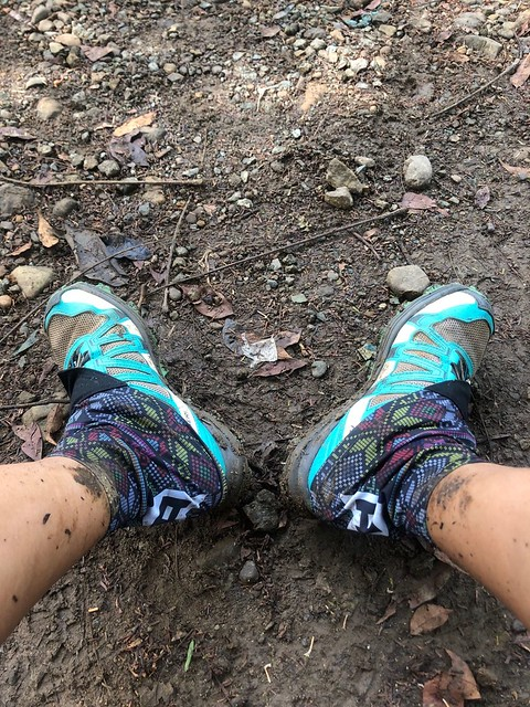 Trail running in La Mesa Nature Reserve