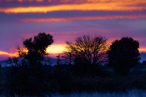 A Sunset in a place in La Mancha, whose name I do not want to remember ........., Un Atardecer en un lugar de la Mancha, de cuyo nombre no quiero acordarme.........