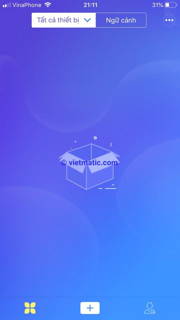 Trang màn hình chính eWelink sau khi đăng nhập