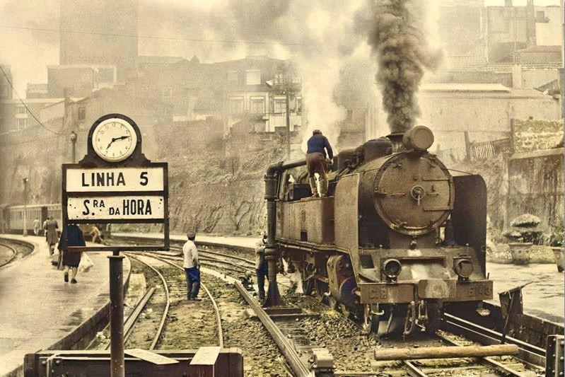 Estação da Trindade,  Porto (© Migu Schneeberger, 1977/78)