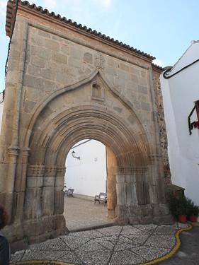 Convento de Franciscanas Clarisas - Portada