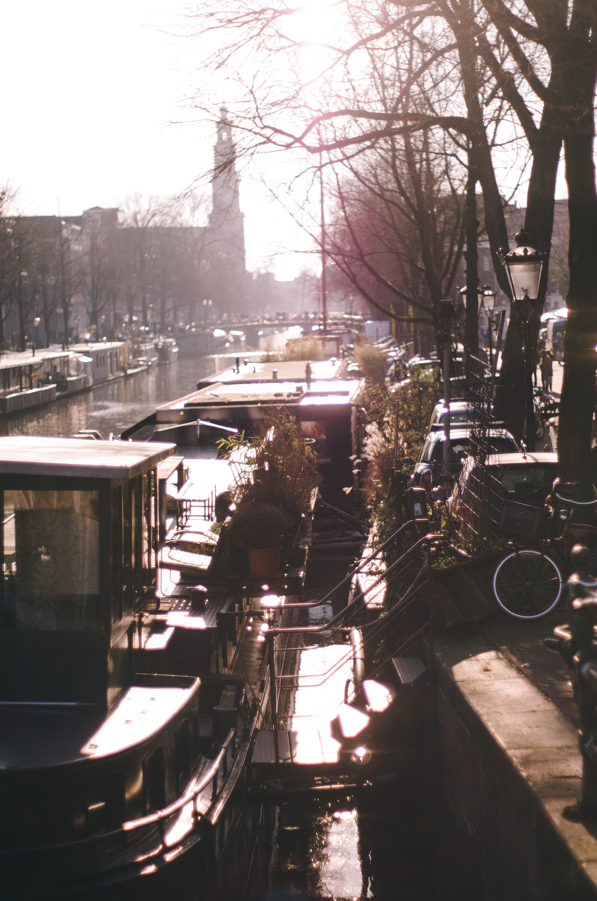 Amsterdam, Winter Light