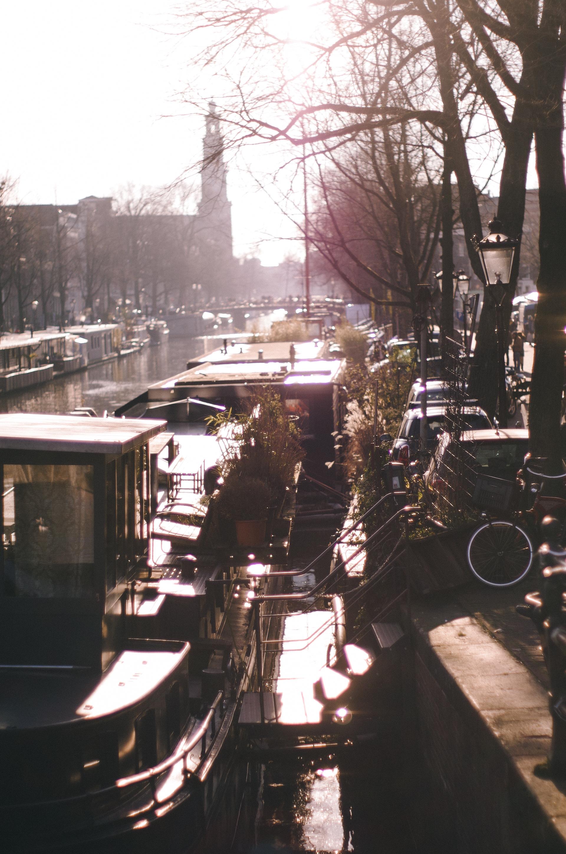 Amsterdam, Winter Light