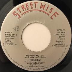FREEEZ:POP GOES MY LOVE(LABEL SIDE-A)