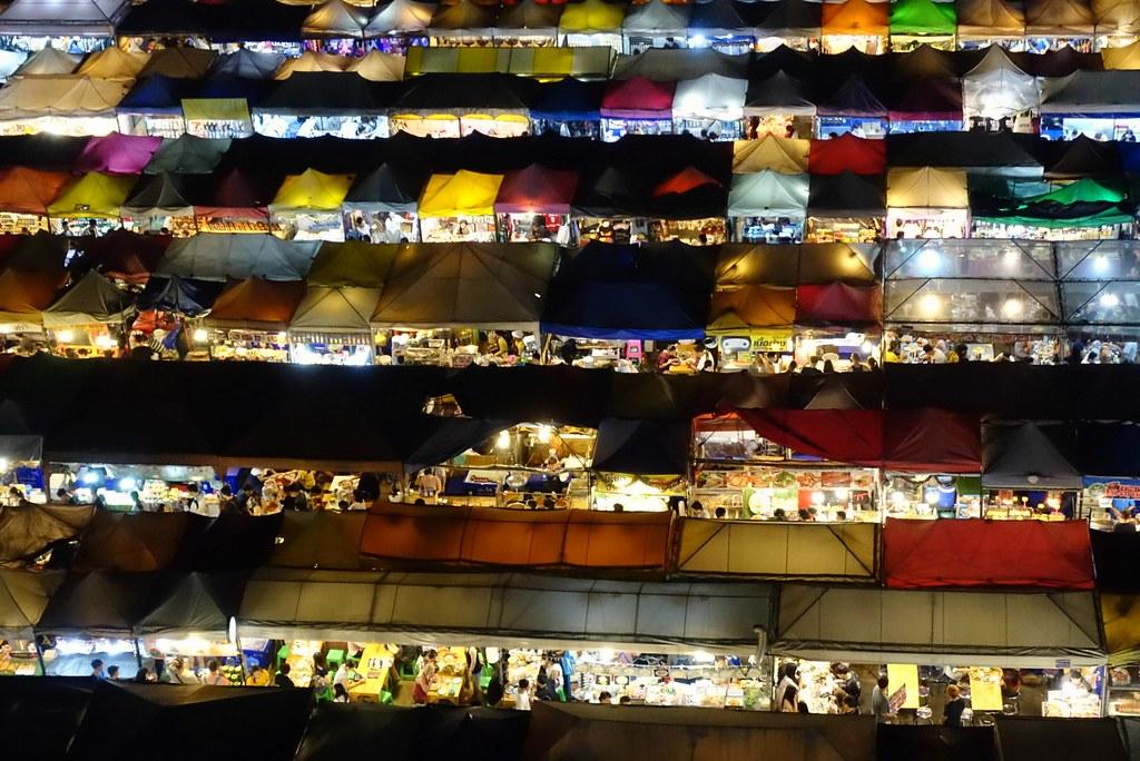 Ratchada Train Market Bangkok