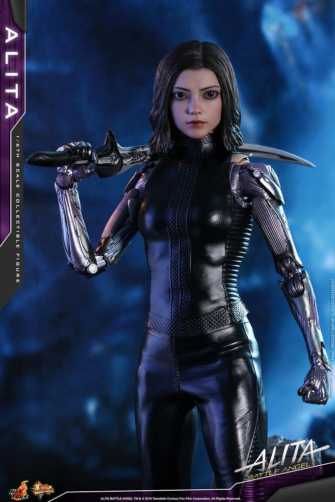 Hot Toys - MMS520 -《艾莉塔:戰鬥天使》艾莉塔 Alita 1/6 比例人偶作品