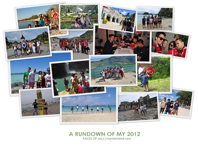 A Rundown of My 2012