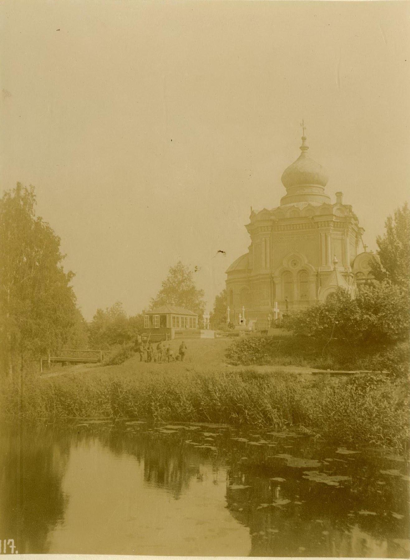 29. Церковь св. Николая Чудотворца на новом кладбище