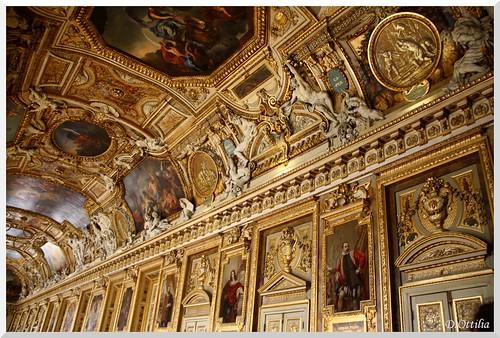 France - Paris - Louvre - The Apollo Gallery