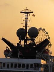 Malaga Port at Dusk