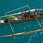 Family Selling fruit from Dhow – Madagascar