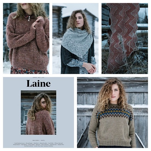 Laine Magazine, Issue 7 is their latest Nordic knit and lifestyle magazine!