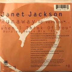 JANET JACKSON:RUNAWAY(JACKET B)