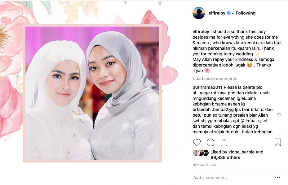 Elfira Loy &Amp; Izyan Bekas Kekasih Sufian Suhaimi