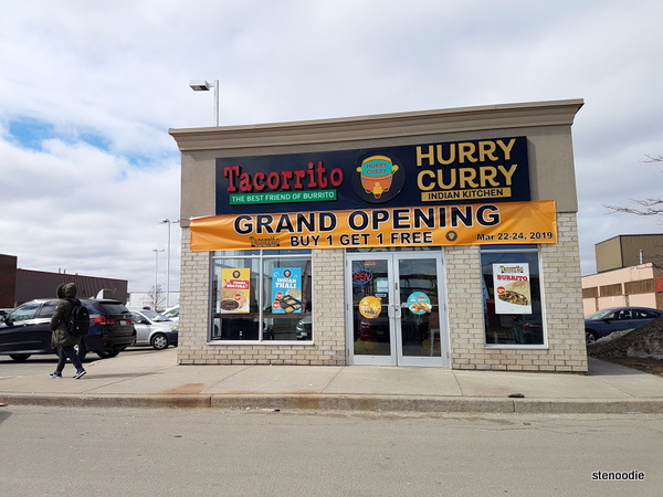 Hurry Curry and Tacorrito Brampton