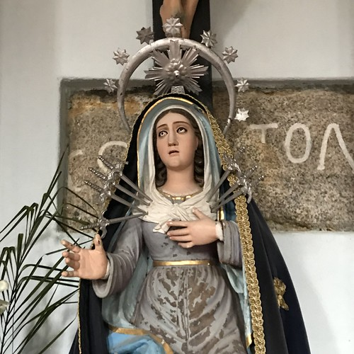 Our Lady of Sorrow on Day 4: #caminoportuguesdacosta