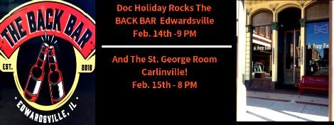 Doc Holiday 2-14, 2-15-19