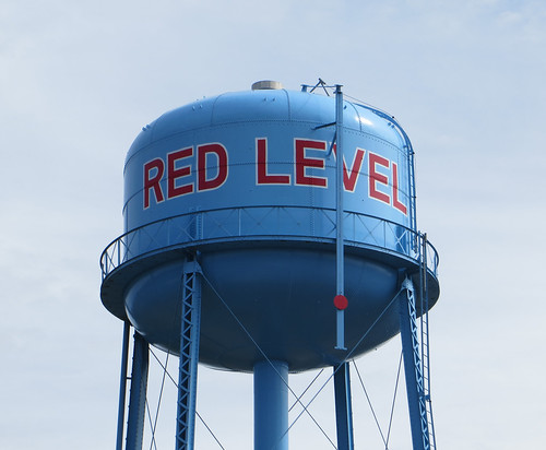 Water Tank Red Level AL