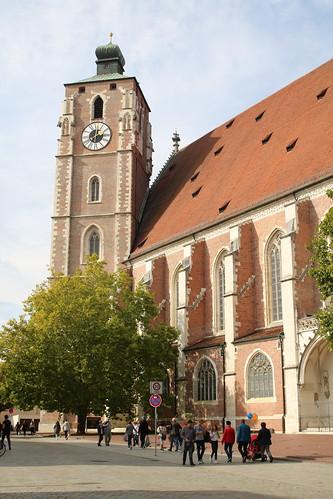 Ingolstadt: Katholische Stadtpfarrkirche Zur Schönen Unserer Lieben Frau (Münster)
