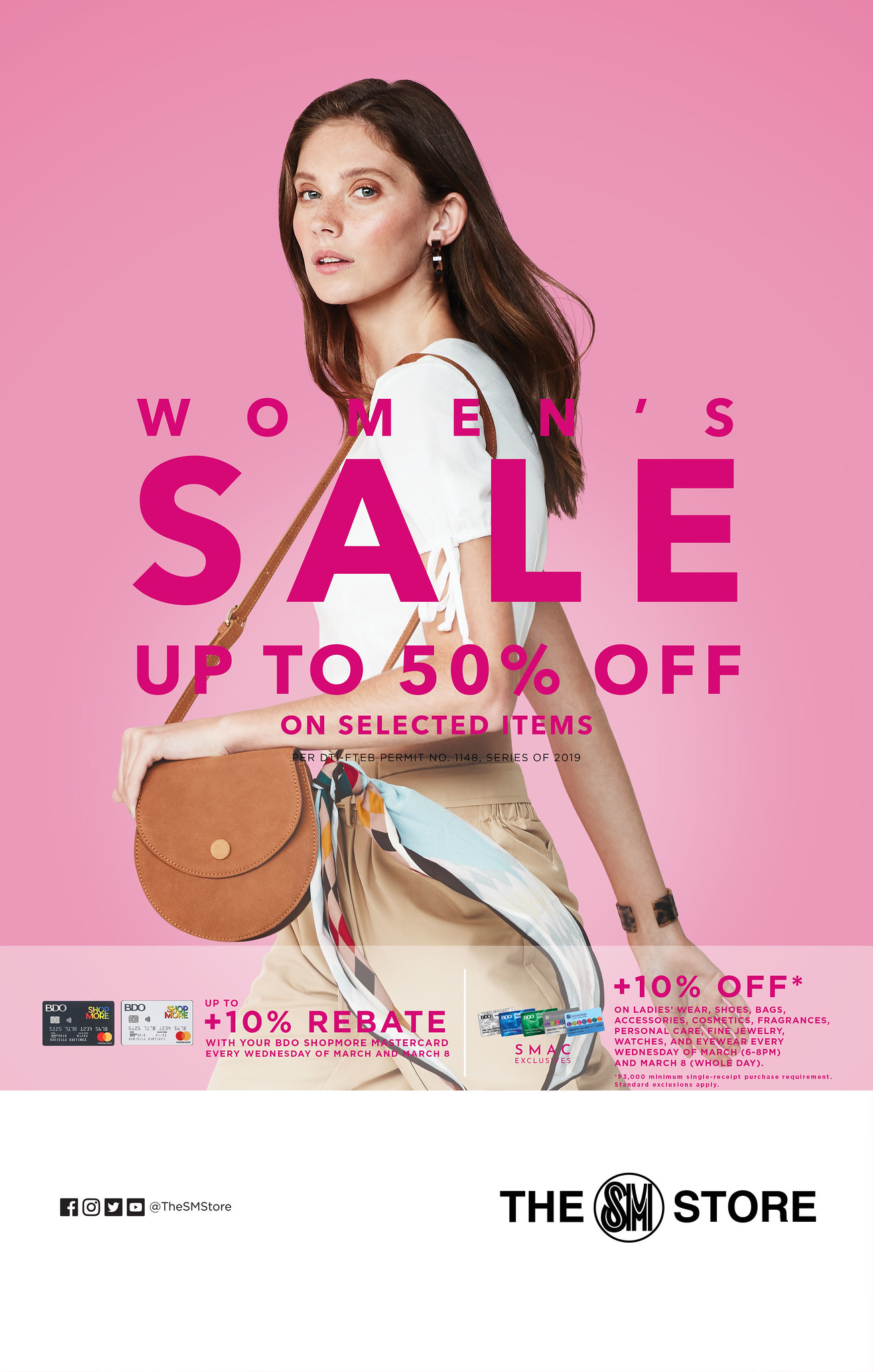 The SM Store Celebrates Women's Month with Women's Sale and More!