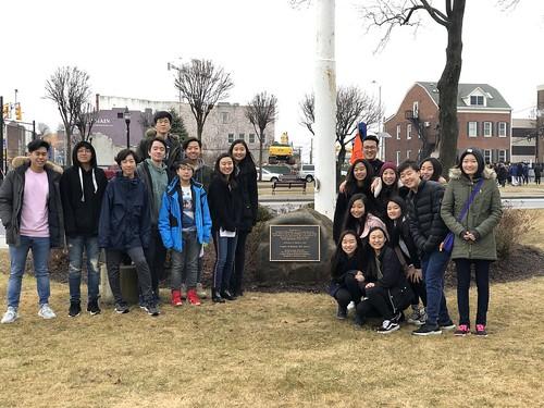 2019 위안부 기림비 방문