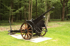 WW1 Artillery piece Belleau Wood France